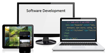 Software development for multiple devices