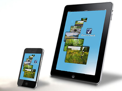 EnviroCheck software on mobile devices